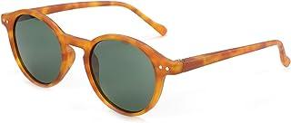 ZENOTTIC Occhiali da Sole Polarizzati Retrò Classici Rotondi Vintage Occhiali da Sole UV400 Montatura da Uomo e Donna