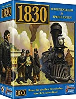Lookout Games 1830: Railways & Robber Barons Board Game - Revised Edition - English