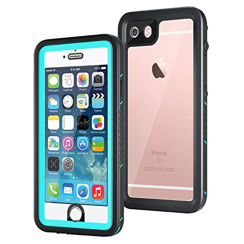 iPhone 6/iPhone 6s Waterproof Case, Meritcase IP68 4.7 inch iPhone 6/6s Full Body Shockproof Snowproof Dirtproof Sandproof Case for Swimming Diving Surfing Snorkeling (4.7 inch, Blue)