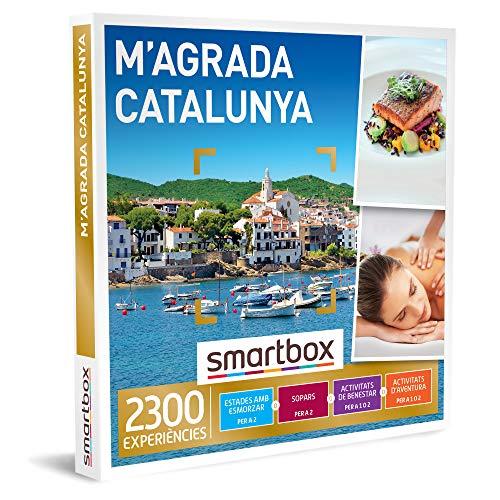SMARTBOX - Caja Regalo - M'agrada Catalunya - Idea de Regalo - 1 experiència d'estada, benestar, gastronomia o Aventura per 1 o 2 persones