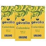 Gevalia Colombia Medium Roast Ground Coffee (12 oz Bags, Pack of 3)