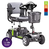 Drive Medical Phoenix HD 4 Wheel Heavy Duty Scooter (Pear, 20 Inches Seat)