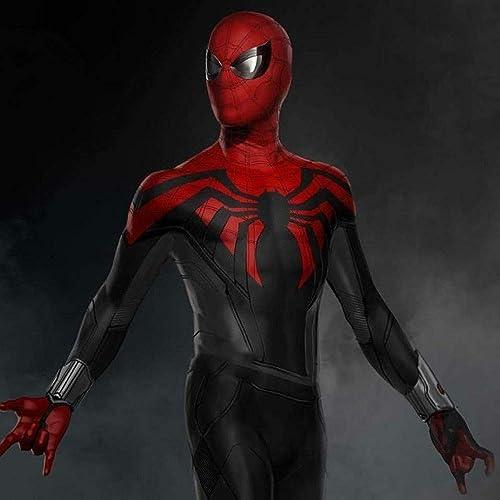 PIAOL Ultimate Spider-Man Medias Siamesas Fiesta Temática Exposición De Halloween Ropa para Adultos Accesorios De Cosplay,Man-XXXL