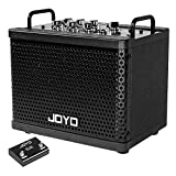 JOYO Digital Guitar Amplifier 15W Rechargeable Bluetooth Combo Amp Electric & Acoustic Guitar Amplifier with 9 Amp Models 6 Digital Effects (DC-15S)