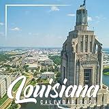 Louisiana Calendar 2022: Calendar 2022 with 6 Months of 2021 Bonus