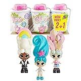 Bandai Pack de 3 muñecas Sorpresa – Muñecas coleccionables Que Crecen como Flores – SK02222