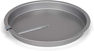 """Patisse Round Cake Pan Non-Stick w/Built-In Easy Release Cutter, 8-1/4"""", metallic silver"""