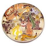 Staedter 12 Piece Cookie Cutter Set, Tinplate, Stainless Steel, 30 x 30 x 30 cm