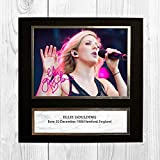 Engravia Digital Ellie Goulding Reproduktion Signatur