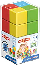 Geomag Magnetic Toys   8 Pieces Toddler Magnets   STEM-endorsed Educational Building Cube Set for Creativity & Early Learning Fun   Swiss-Made   Ages 1-5