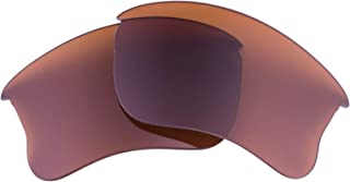 LenzFlip lenses Compatible with Oakley FLAK JACKET XLJ sunglasses Polarized Replacement lenses- Crafted in the USA