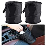 Car Trash Can, Universal Traveling Portable Garbage Bin, Collapsible Pop-up Water Proof Bag