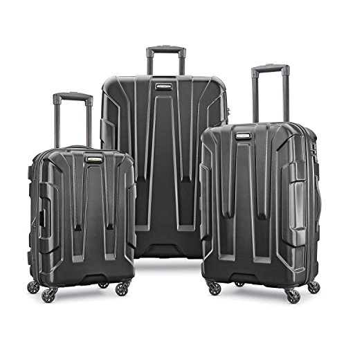 Samsonite Centric Hardside Luggage, Black, 3-Piece Set