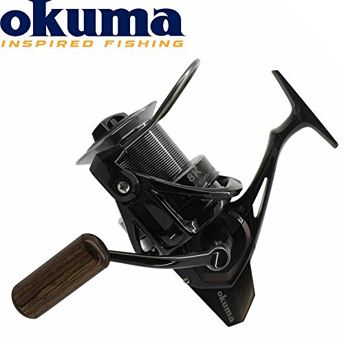 Okuma 8K - Brandungsrolle zum Meeresangeln auf Plattfisch & Dorsch, Meeresrolle zum Brandungsangeln, Weitwurfrolle, Stationärrolle