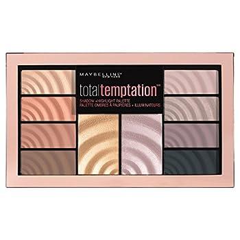 Maybelline Total Temptation Eyeshadow + Highlight Palette 0.42 oz.