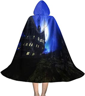 Men & Kids Tunic Hooded Robe, Hooded Cosplay Party Cloak Halloween Decoration