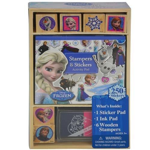 Bendon Frozen Wooden Stamp & Activity Set