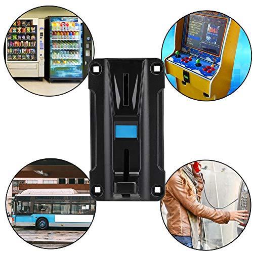 Hakeeta munttester-keuzeschakelaar accepteren voor speelautomaten, met precisie-instelknop, anti-elektromagneet, verkoopautomaten, munttelefoon, muntenwasdroger