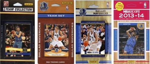 C & I Collectables NBA Dallas Mavericks 4Verschiedene lizenzierte Trading Card Team Sets