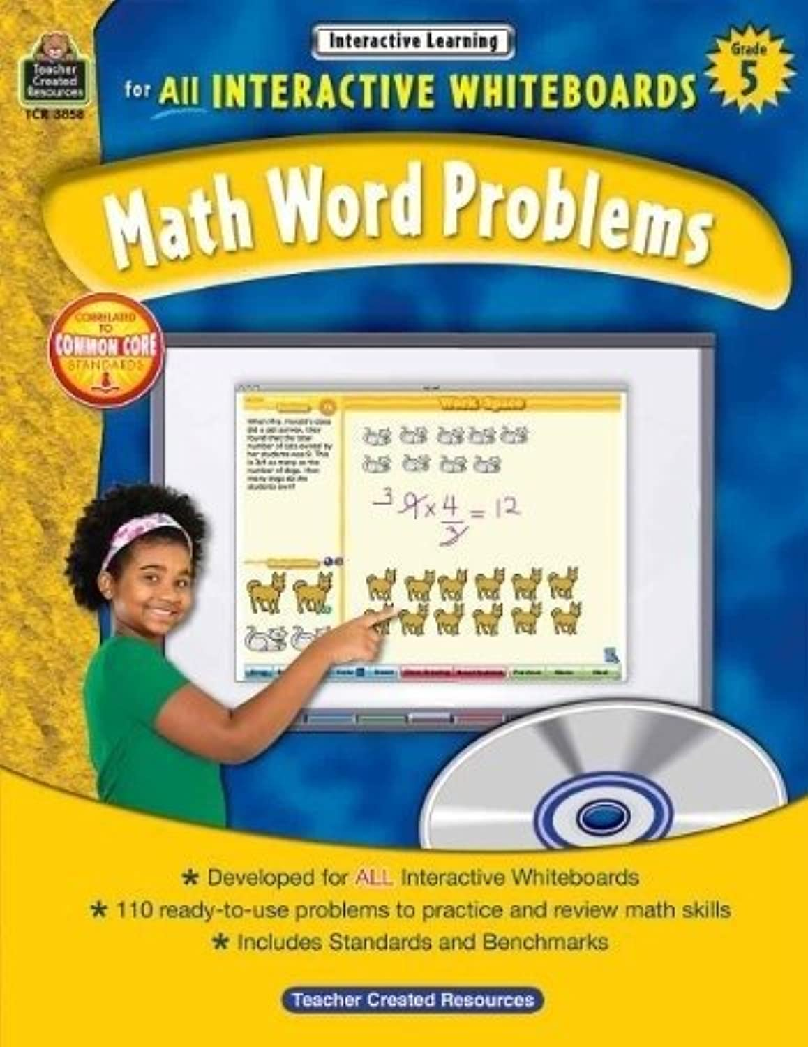 Teacher Created Resources TCR3858 Interactive Learning Gr 5 Math Word Problems