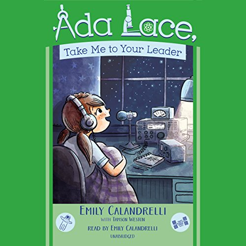 Ada Lace, Take Me to Your Leader audiobook cover art