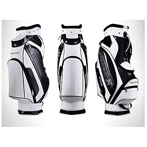 Buy NDY Golf Ball Bag, Waterproof Pu Leather, Stable Center of Gravity, Rubber Handle, Non-Slip, Not...