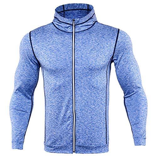 NLZQ 2020 - Sudadera con capucha para hombre Z-light Blue XXXL
