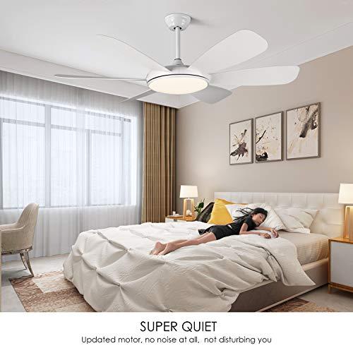 Albrillo LED Deckenventilator Bild 5*
