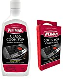 Weiman Glass Cooktop Cleaner and Polish - 20 Ounce - 3 Pads