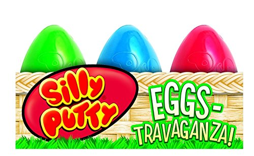 Crayola 6-Count Silly Putty Easter Egg Basket by Crayola