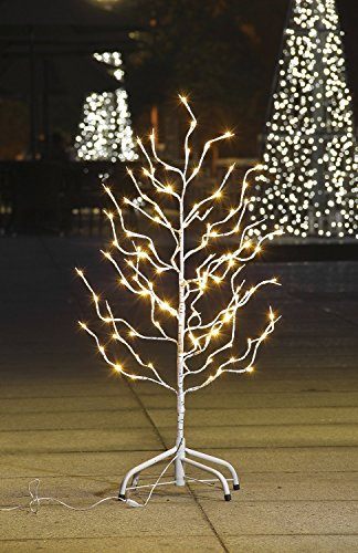 Lightshare Star Tree 112 LED Lights Warm White for Home & Christmas Decorations, 3'