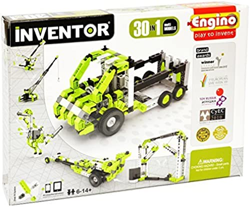 Engino   Inventor Build 30 Motorized Multi-Models Building Kit by Engino