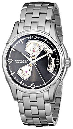 Hamilton HML-H32565135 Jazzmaster - Reloj de Pulsera para Hombre, Esfera Negra