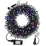 MZD8391 105FT 300LEDs Christmas Lights Outdoor Indoor String Lights 8 Modes Memory...