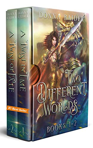 Two Different Worlds Box Set - The Mika & Leah Cross Saga Books 1 & 2 (English Edition)