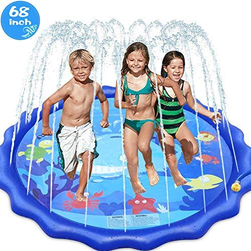INNOCHEER Splash Pad, Sprinkler ...