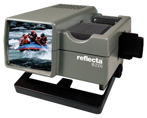 Reflecta B 220 Betrachter mit Diawechsler und Schacht