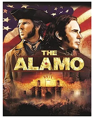 TTbaoz Jigs Puzzles 1000 Piezas Imagen de Montaje de Madera El Cartel de la película Alamo Juguetes educativos para Adultos(38*26cm)