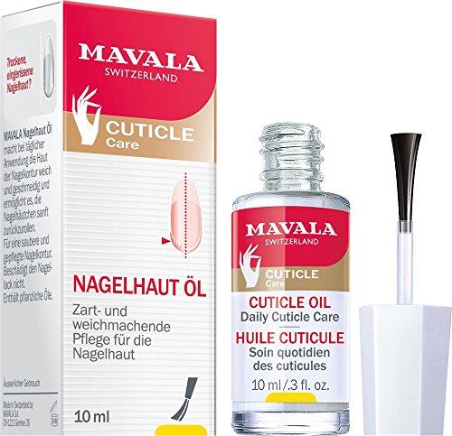Mavala Lot de 2 flacons d'huile de soin pour cuticules 10 ml