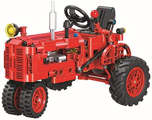 DioMate 302/pcs Mechanical Engineering Series Static Technology Classic Tractor Building Blocks Puzzle Assembling Toy Set