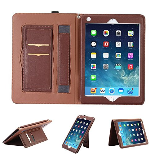 Hulorry iPad Mini Case Wallet 7.9'' Cover, Slim Flip Case Smart Case Heavy Duty Corner Protection Cover Portable Handbag Style File Cover Folio Pocket for iPad Mini 1/2/ 3 7.9'' Tablet