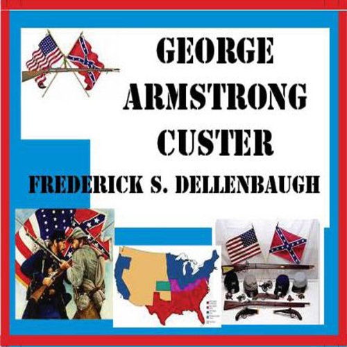 George Armstrong Custer audiobook cover art