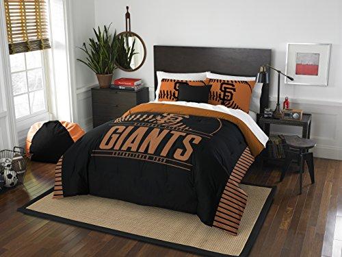 MLB San Francisco Giants Grandslam Full/Queen Comforter and 2 Sham Set