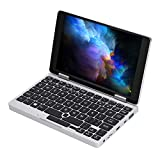 Tosuny pour Un Netbook One Mix 1S ​​Mini-Ordinateur Portable Windows 10 de 7 Pouces Portable 2 en 1 Mini-Ordinateur de Poche 8'de Poche pour Ordinateur Portable 8 Go + 128 Go (UE)