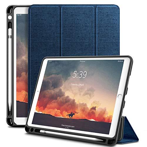 ipad air(第三世代) ケース2019春発売 iPad Pro 10.5 ケース Infiland 三つ折ケース スリム 極薄型カバー オートスリープ機能 スマートカバー Apple iPad Pro 10.5インチ 合成皮革カバー