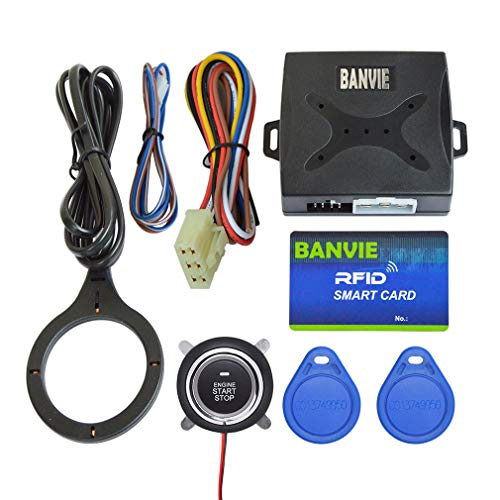 BANVIE Car Alarm RFID Immobilizer Hidden Lock System