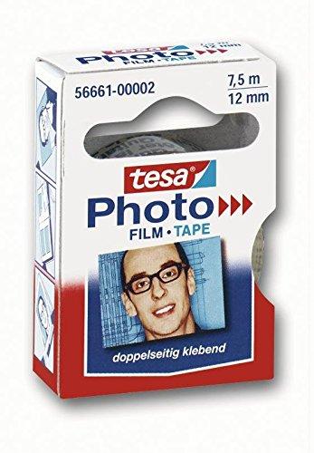 tesa® Foto Film Ersatzrolle, 7.5 m x 12 mm