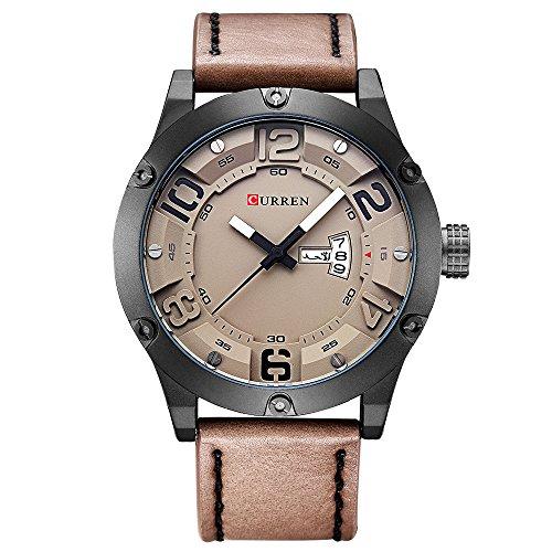 CURREN Military Quartz Man Watch Men Watches Top Brand Luxury Famous Male Clock Reloj de Pulsera