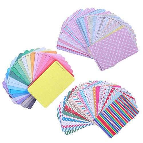 ROSENICE Masking Sticker Set 2 Sätze Masking Aufkleber Handwerk Aufkleber Scrapbooking Beschriftung Tagebuch Geschenk + 1 Satz Pastell