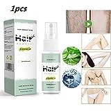 JHGJG Spray de depilación indoloro de 30 ml, inhibidor del Crecimiento del Vello, Bikini, depilatorio Corporal Particular para piernas, Brazos y Axilas de Hombres y Mujeres (1pcs)